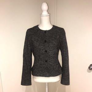 NWOT Ann Taylor Petite black and white blazer